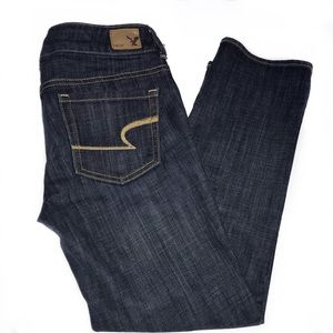 American Eagle artist cropped jeans size 0